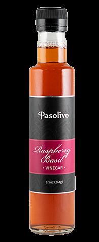 Raspberry Basil Vinegar