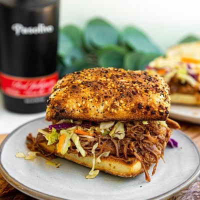 Red Jalapeno Pulled Pork Sandwiches