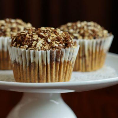granola pumpkin muffins