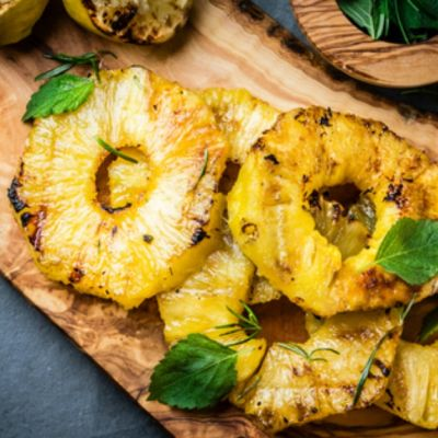 Fresh Grilled Pineapple