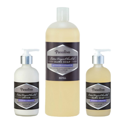 Lavender Hand Soap and Lotion Set