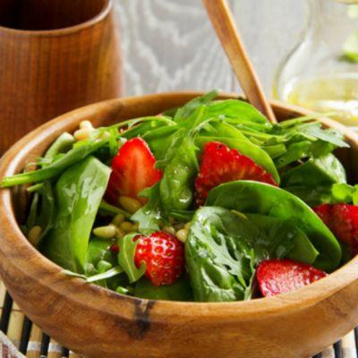 Romaine, Fruit and Pesto Salad