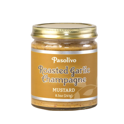 Roasted Garlic Champagne Mustard