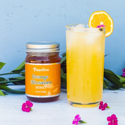 Orange Blossom Honey Lemonade