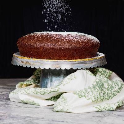 Chocolate Lemon Olive Oil Cake