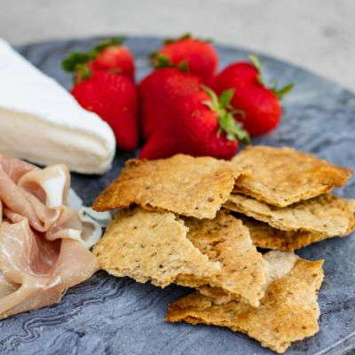 Rustic Olive Oil Crackers