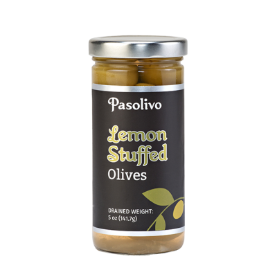 Zesty Lemon Stuffed Olives
