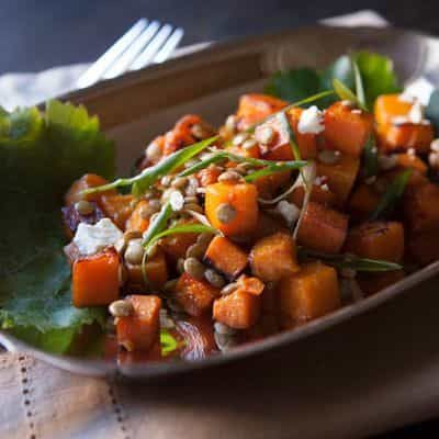 Squash Winter Salad Recipe