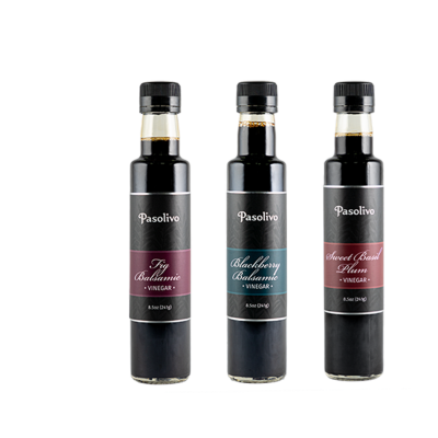 Sweet & Tart Balsamic Trio