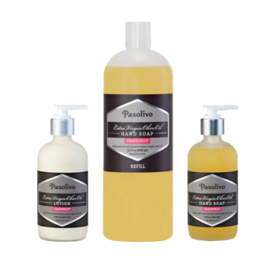 Grapefruit Hand Soap and Lotion Set