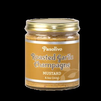 Roasted Garlic Champagne Mustard