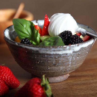Spring Fruit Salad with Yogurt Recipe | Pasolivo