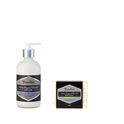 Lavender Soap and Lotion Set