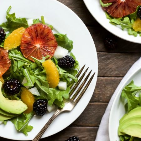 Summer Citrus Avocado Salad