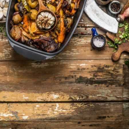 spicy roasted vegetables