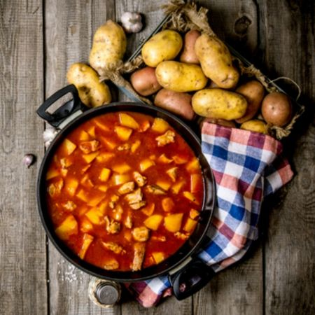 Red Potato Kale Soup