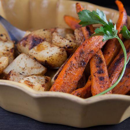 Maple Roasted Carrots & Potatoes